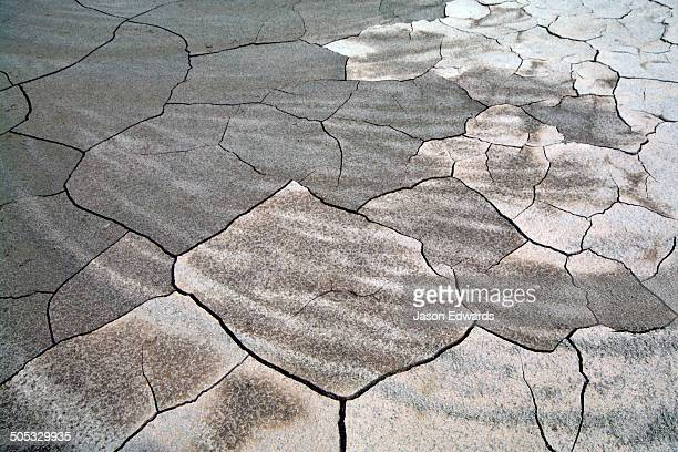 Drought and deforestation reek havoc on water levels in the Amazon River exposing sandbars and cracking the mud.