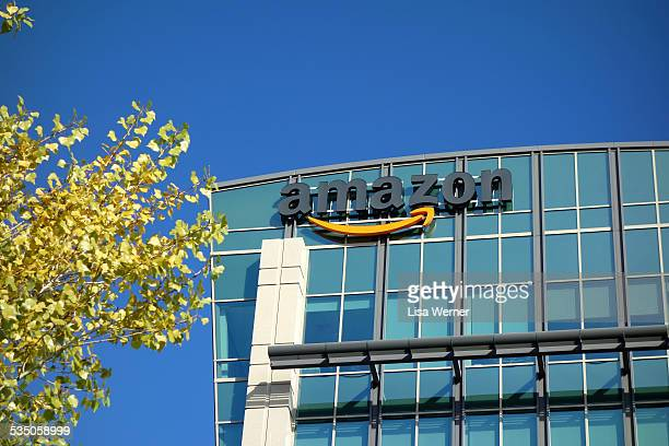 Amazon corporate office building in Sunnyvale California