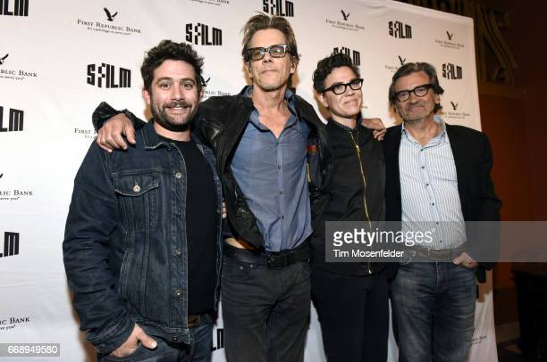 Amazon Executive Joe Lewis Kevin Bacon director Sarah Gubbins and Griffin Dunne attend the screening of 'I Love Dick' during the San Francisco...