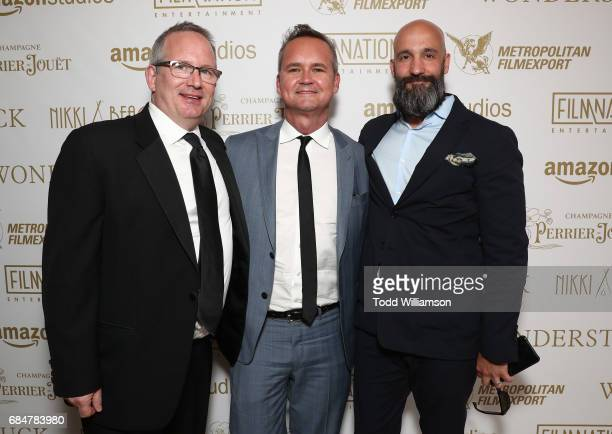 Amazon Head of Motion Picture Production Ted Hope Head of Amazon Studios Roy Price and Worldwide Head of Motion Pictures Jason Ropell attend the...
