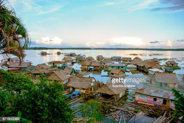Amazon River Floating Houses