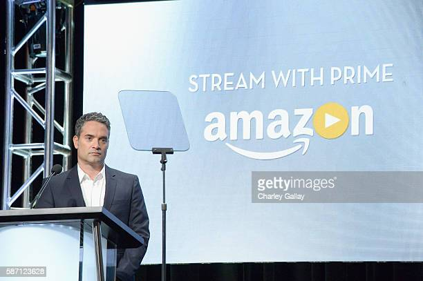 Amazon Studios Head of Drama Development Morgan Wandell attends the Amazon 2016 Summer TCA Press Tour at The Beverly Hilton Hotel on August 7 2016 in...