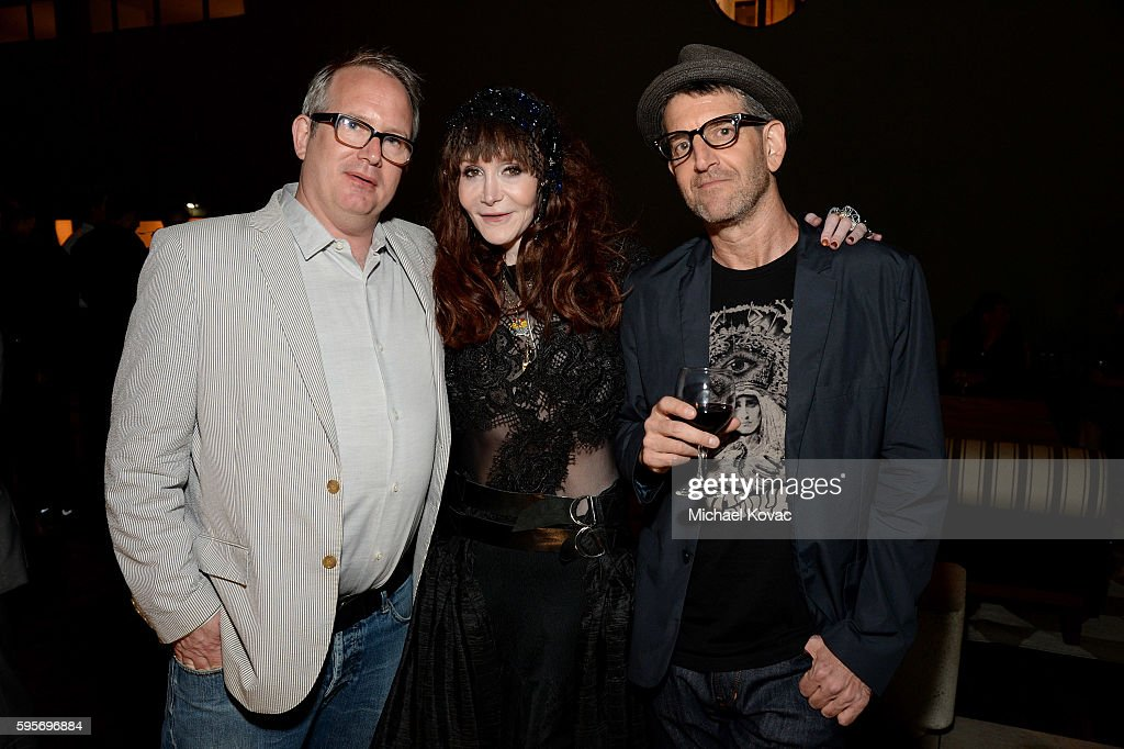 Amazon Studios' Ted Hope writer Laura Albert and director Jeff Feuerzeig attend the afterparty for the Los Angeles Premiere of 'Author The JT Leroy...