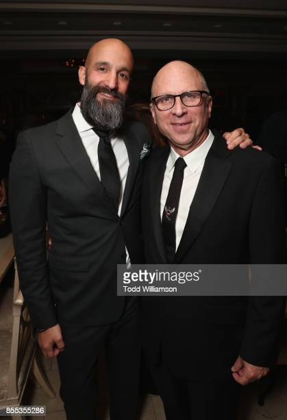 Amazon Studios' Worldwide Head of Motion Pictures Jason Ropell and Amazon Studios Movie Marketing Distribution Head Bob Berney attend the Last Flag...