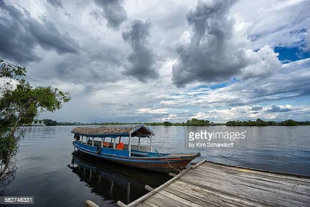 Amazon tourist boat