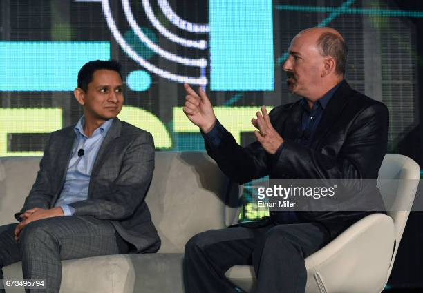 Amazon Web Services Elemental Vice President of Engineering Khawaja Shams and NASA Marshall Space Flight Center Imagery Experts Program Manager...