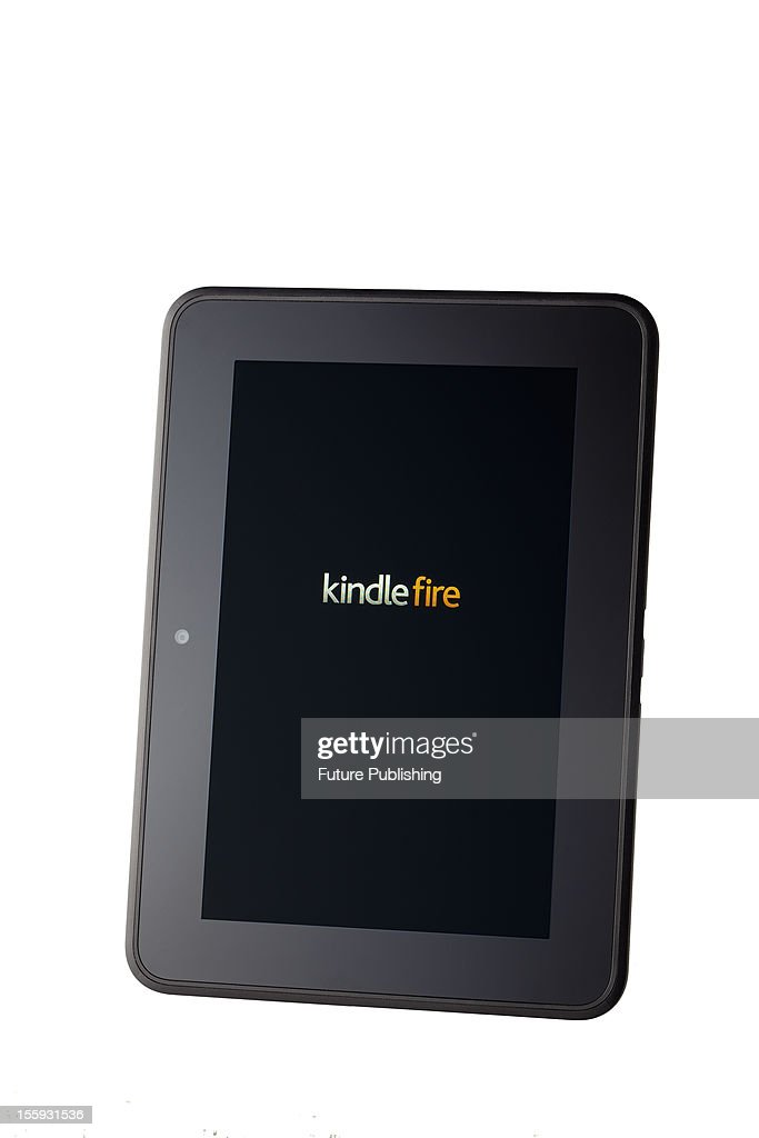 Amazon's Kindle Fire HD e-book reader and mini tablet computer, October 29, 2012.