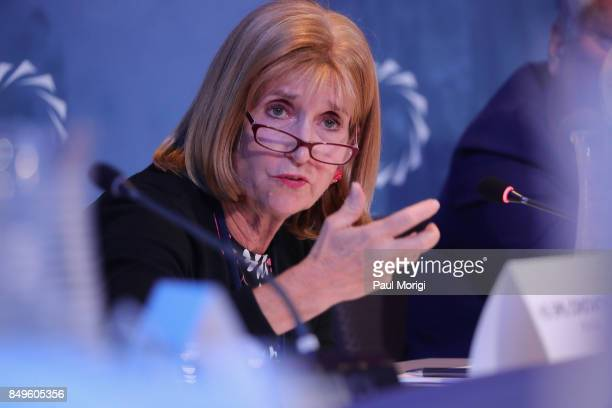 Amb Paula Dobriansky Former Under Secretary of State for Democracy and Global Affairs President's Special Envoy to Northern Ireland speaks at The...
