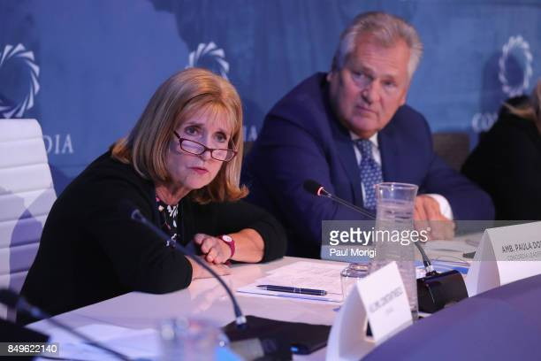 Amb Paula Dobriansky Former Under Secretary of State for Democracy and Global Affairs President's Special Envoy to Northern Ireland and Aleksander...