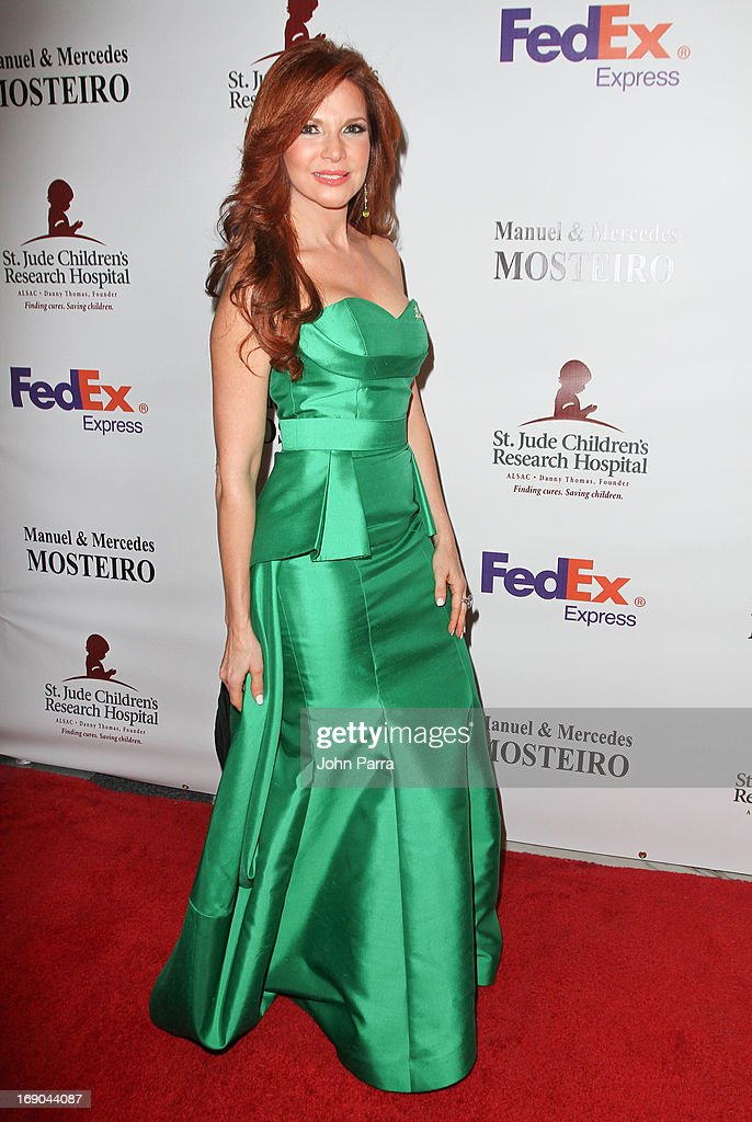 Ambar attends 11th annual FedEx/St. Jude Angels & Stars Gala in Miami at JW Marriott Marquis on May 18, 2013 in Miami, Florida.