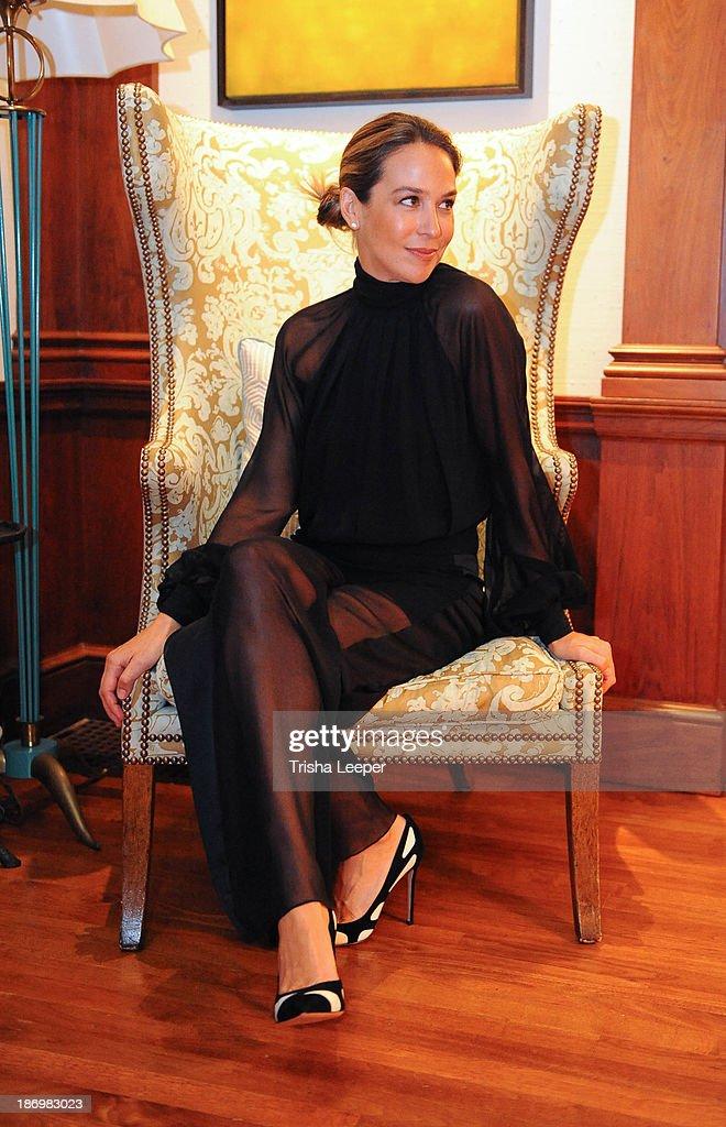 Ambassador Alexis Traina attendHaney Pret-a-Couture Ambassador Event on October 25, 2013 in Dallas, Texas.