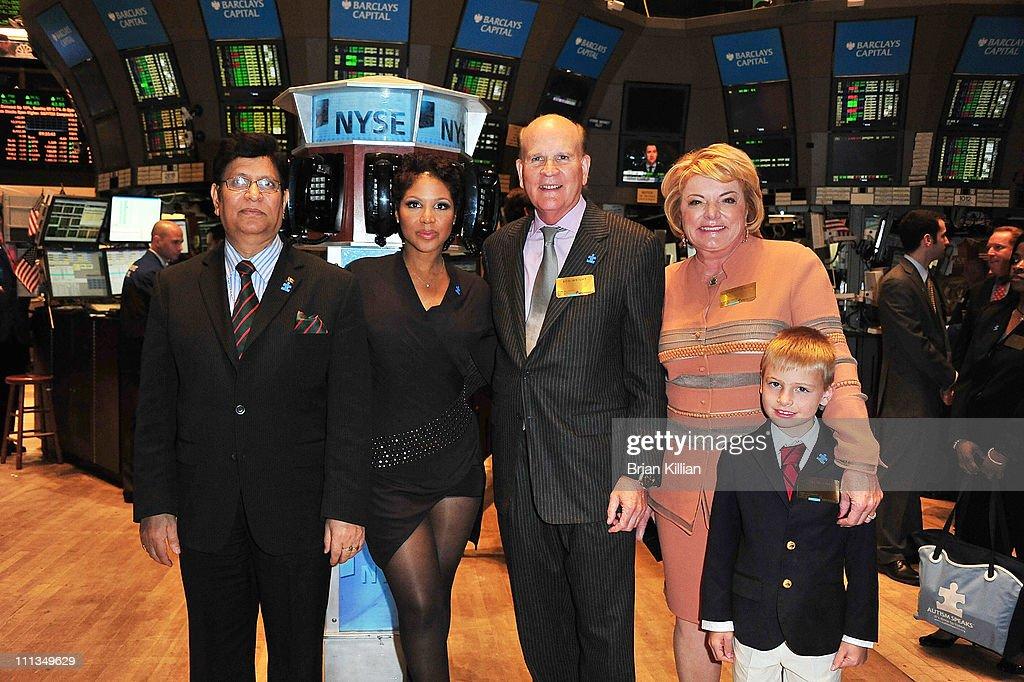 Autism Speaks Celebrates  World Autism Awareness Day & Autism Awareness Month At The New York Stock Exchange
