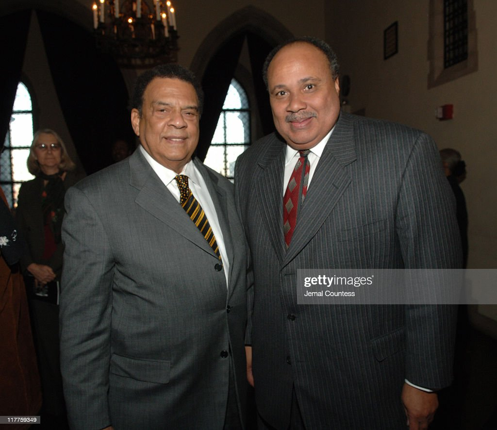 Ambassador Andrew Young and Martin Luther King III