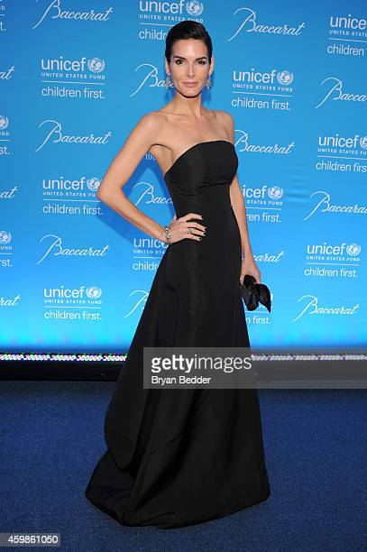 Ambassador Angie Harmon attends the Tenth Annual UNICEF Snowflake Ball at Cipriani Wall Street on December 2 2014 in New York City