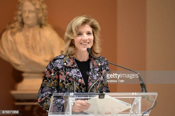 Ambassador Caroline Kennedy attends the 'Rei Kawakubo/Comme des Garcons Art Of The InBetween' Costume Institute Gala press preview at Metropolitan...