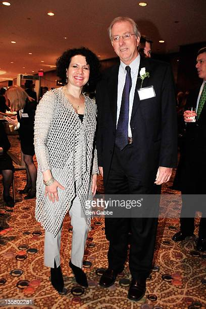 Ambassador Dennis Ross and actress Susie Essman attend the UJAFederation of New York's Wall Street Financial Services Division's Wall Street dinner...