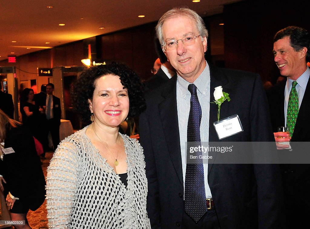 Ambassador, Dennis Ross and actress Susie Essman attend the UJA-Federation of New York's Wall Street & Financial Services Division's Wall Street dinner at New York Hilton and Towers on December 14, 2011 in New York City.