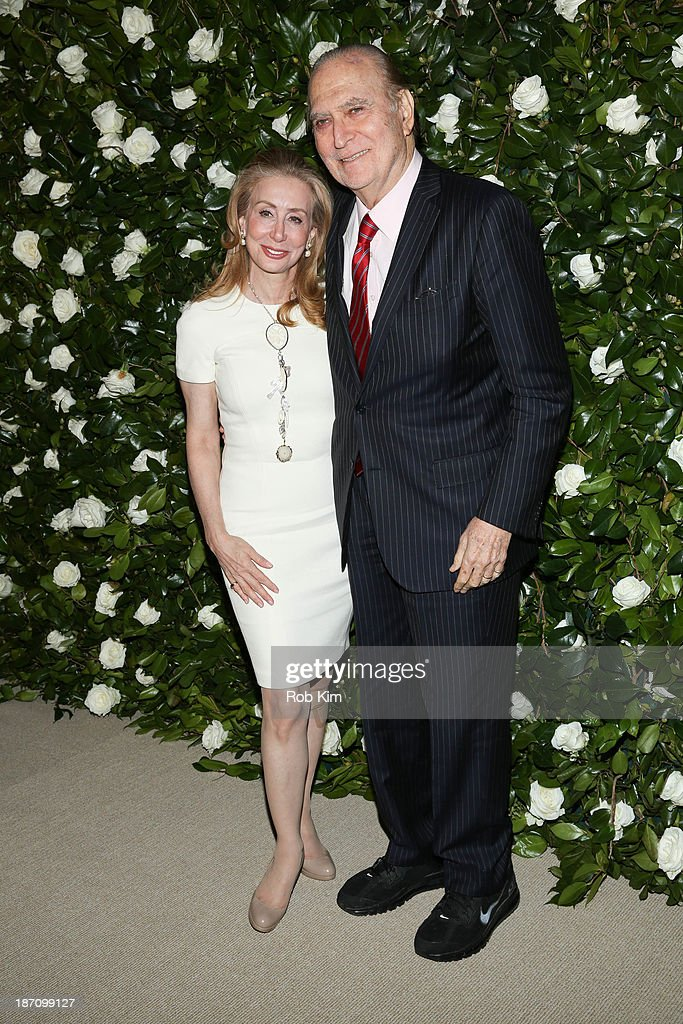 Ambassador John Loeb and Sharon Loeb attend the Museum of Modern Art 2013 Film benefit: A Tribute To Tilda Swinton on November 5, 2013 in New York City.