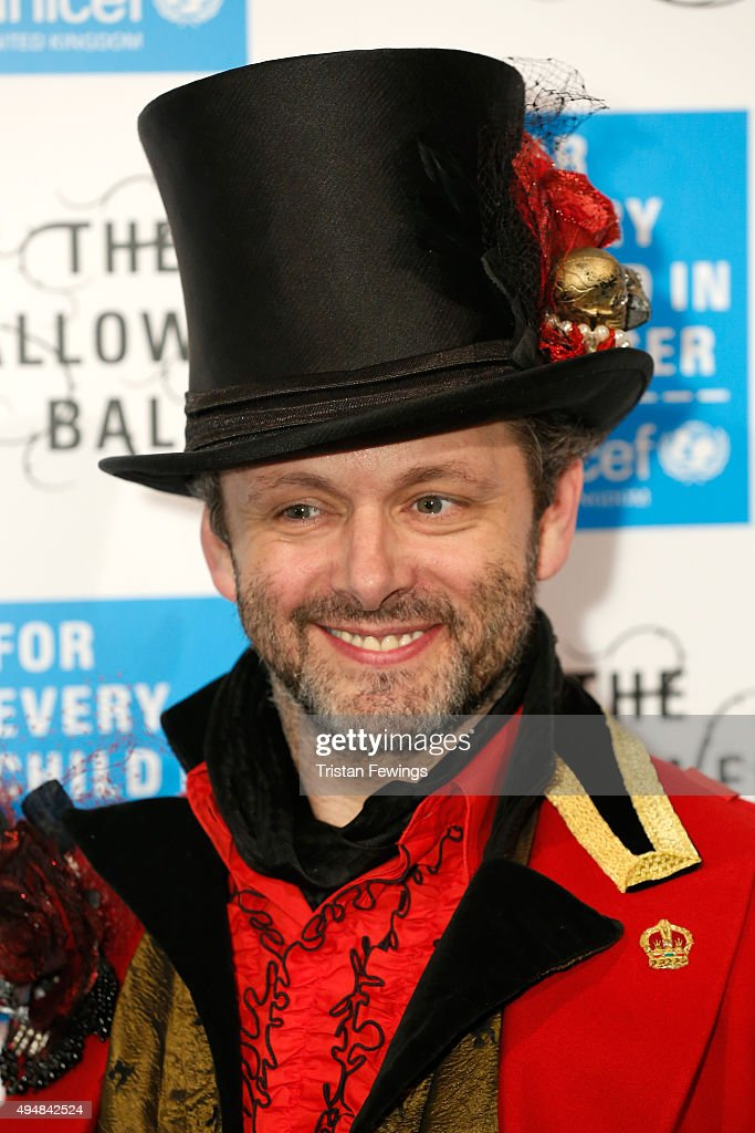 Ambassador Michael Sheen attends the UNICEF Halloween Ball at One Mayfair on October 29 2015 in London England