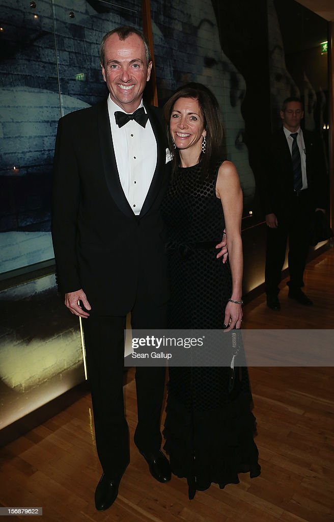 U.S. Ambassador Philip Murphy and his wife Tammy Murphy attend the 2012 Bundespresseball (Federal Press Ball) at the Intercontinental Hotel on November 23, 2012 in Berlin, Germany.