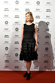 Ambassador Rosamund Pike attends the IWC 'For the love of Cinema' Gala Dinner at the Beijing International Film Festival during which the Swiss...