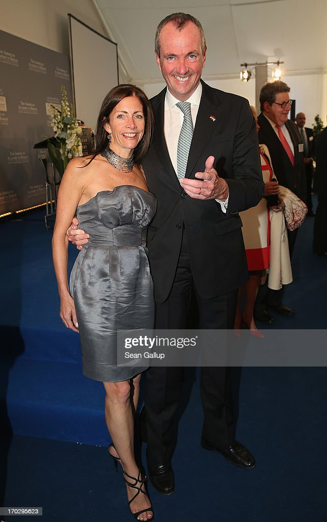 U.S. Ambassador to Germany Philip Murphy and his wife Tammy attend the Henry A. Kissinger Prize 2013 award at the American Academy in Berlin on June 10, 2013 in Berlin, Germany.