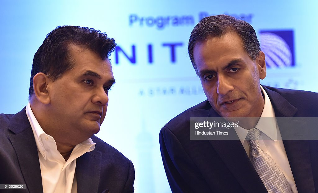 US Ambassador to India Richard Verma along with Amitabh Kant CEO, NITI Aayog during the joint seminar on Travel And Tourism conference organized By Indo-American chamber council at Hyatt hotel in new Delhi on June 29, 2016 in New Delhi, India. According to the World Travel and Tourism Council , the travel and tourism sector contributed $120 billion or 6.3 per cent to the country's GDP, which supported approximately 37 million jobs in 2015.