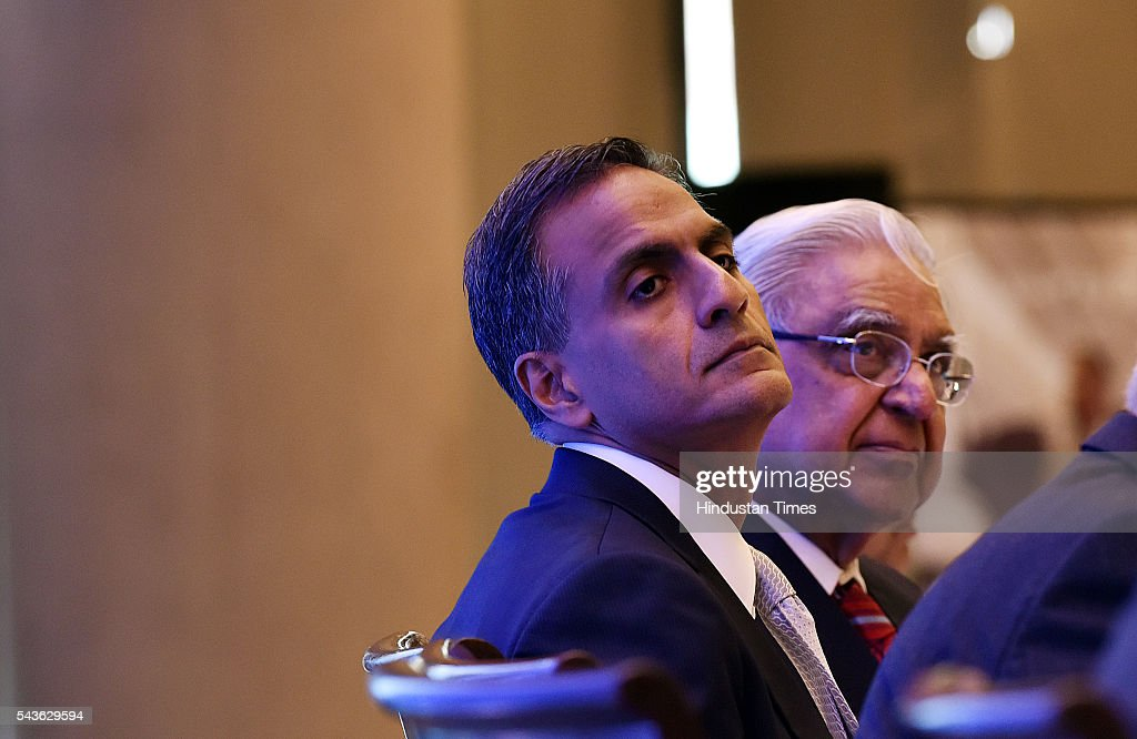 US Ambassador to India Richard Verma and along with Lalit Kanodia President IACC during the joint seminar on Travel And Tourism conference organized By Indo-American chamber council at Hyatt hotel in new Delhi on June 29, 2016 in New Delhi, India. According to the World Travel and Tourism Council , the travel and tourism sector contributed $120 billion or 6.3 per cent to the country's GDP, which supported approximately 37 million jobs in 2015.