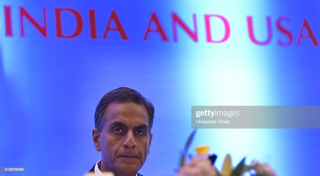 US Ambassador to India Richard Verma during the joint seminar on Travel And Tourism conference organized By Indo-American chamber council at Hyatt hotel in new Delhi on June 29, 2016 in New Delhi, India. According to the World Travel and Tourism Council , the travel and tourism sector contributed $120 billion or 6.3 per cent to the country's GDP, which supported approximately 37 million jobs in 2015.