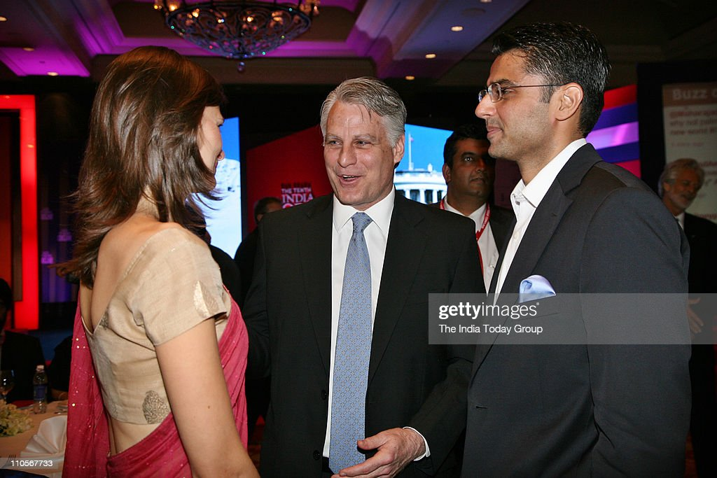 US Ambassador to India Timothy J Roemer with <a gi-track='captionPersonalityLinkClicked' href=/galleries/search?phrase=Sachin+Pilot&family=editorial&specificpeople=5839798 ng-click='$event.stopPropagation()'>Sachin Pilot</a>, Union Minister of State for Communications and Information Technology at the gala dinner.