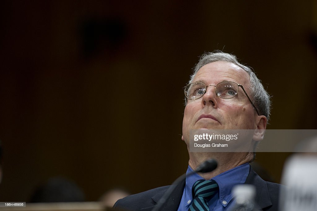 U.S. Ambassador to Syria Robert Ford testifies before the foreign relations committee, full committee hearing on Syria in the Dirksen Senate Office Building on October 31, 2013.