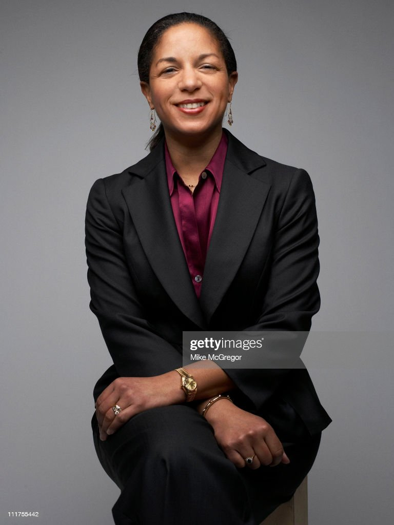 US Ambassador to the United Nations Susan E. Rice is photographed for Time Magazine on February 10, 2009 in Washington, DC.