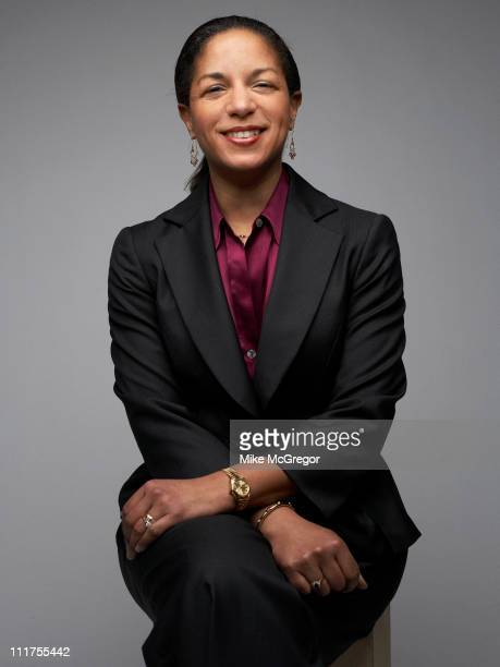 Ambassador to the United Nations Susan E Rice is photographed for Time Magazine on February 10 2009 in Washington DC