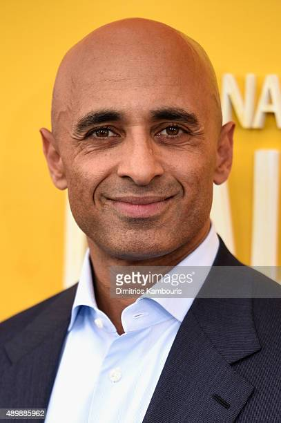 Ambassador Yousef Al Otaiba attends the 'He Named Me Malala' New York premiere at Ziegfeld Theater on September 24 2015 in New York City
