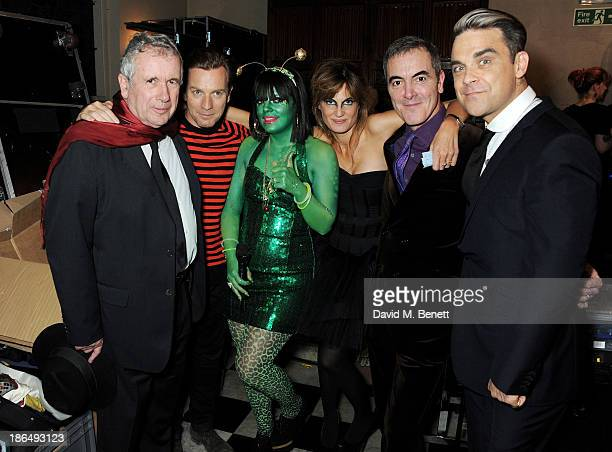 UNICEF Ambassadors Martin Bell Ewan McGregor Lily Allen Jemima Khan James Nesbitt and Robbie Williams attend the UNICEF UK Halloween Ball hosted by...