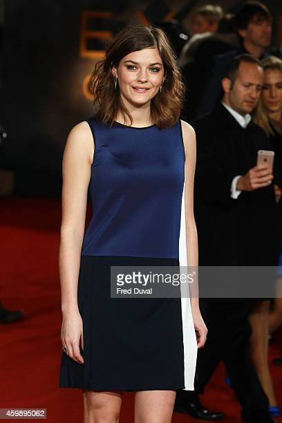 Amber Anderson attends the ExodusGods And Kingspremiere at Odeon Leicester Square on December 3 2014 in London England