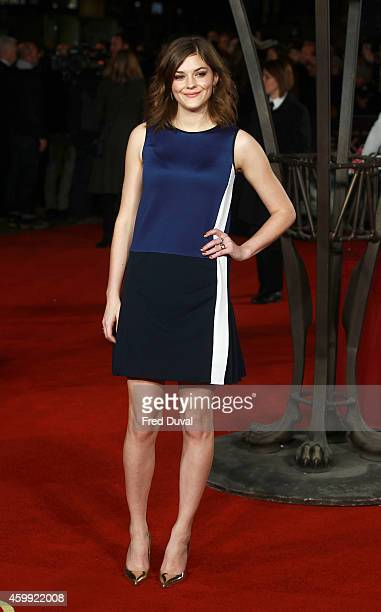 Amber Anderson attends the Exodus'Gods And Kings'UK Film Premiere at Odeon Leicester Square on December 3 2014 in London England