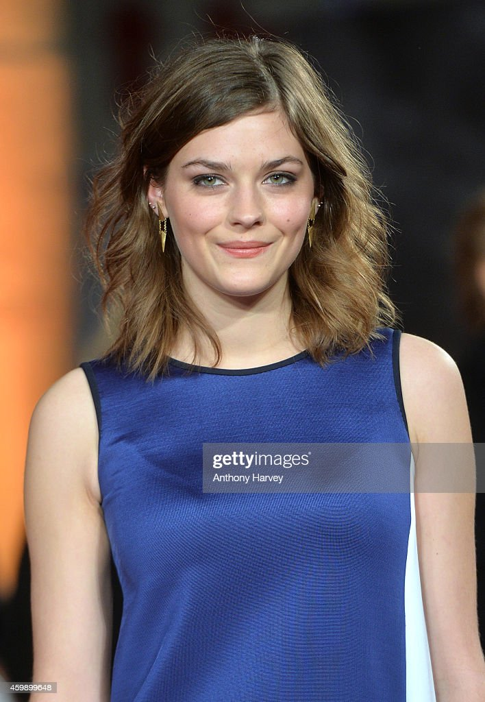Amber Anderson attends the World Premiere of 'Exodus Gods and Kings' at Odeon Leicester Square on December 3 2014 in London England