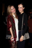 Amber Atherton and Edie Campbell attend the launch of the Vogue Pop Up Club as part of Westfield London's 5th birthday celebrations at Westfield on...
