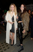 Amber Atherton and guest attend Club Monaco Sloane Square event to celebrate Women's Flagship Store opening on September 12 2014 in London England