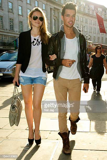 Amber Atherton and Piers Hargreaves Adams sighting at the ShelterBox Popup shop launch on June 9 2011 in London England