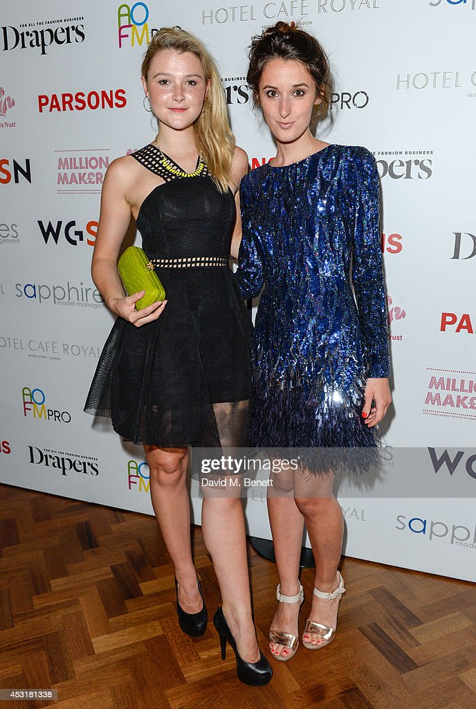<a gi-track='captionPersonalityLinkClicked' href=/galleries/search?phrase=Amber+Atherton&family=editorial&specificpeople=7192882 ng-click='$event.stopPropagation()'>Amber Atherton</a> (L) and Rosanna Falconer attend the VIP charity event, which Drapers and WGSN Group, partnered with Parsons The New School for Design and the British Fashion Council to hold, in aid of the Prince's Trust Million Makers on August 4, 2014 in London, England. The event saw the launch the acclaimed book 'The School of Fashion: 30 Parsons Designers' by Simon Collins, Dean of Fashion at Parsons. The richly-illustrated volume explores the legacy of Parsons through the testimony of its brightest alumni, with interviews and sketches from Donna Karan, Alexander Wang, Jack McCullough and Lazaro Hernandez of Proenza Schouler, and many others.