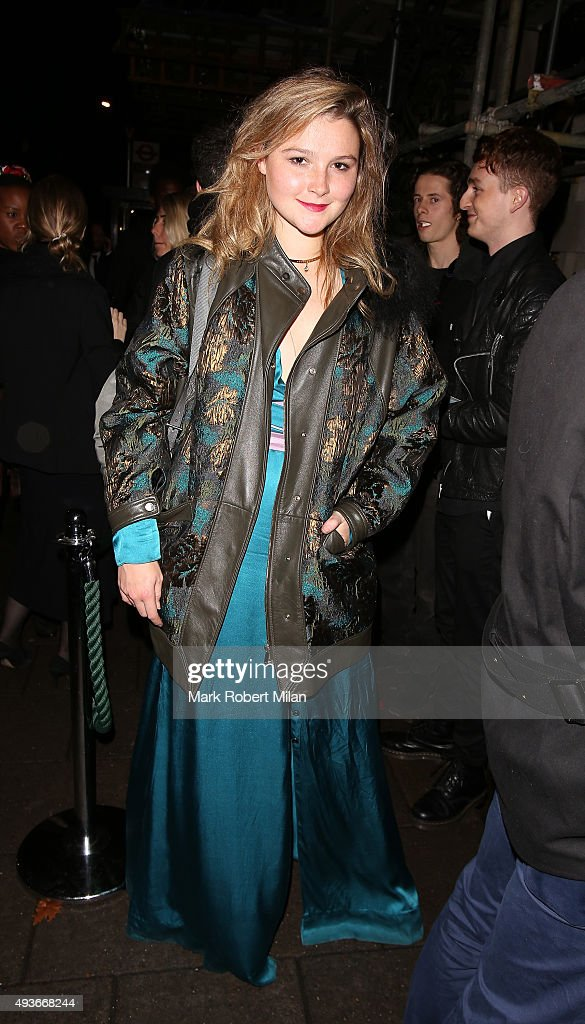 Amber Atherton attending AnOther Magazine x Dior Party at Annabels club on October 21, 2015 in London, England.