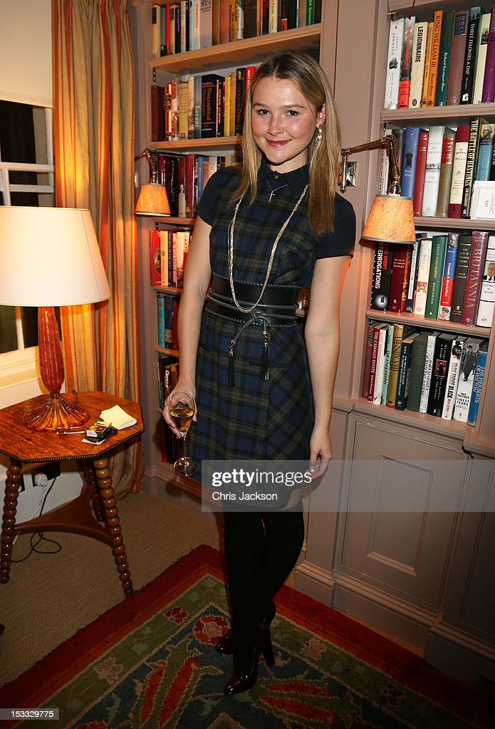 Amber Atherton attends a dinner at 5 Hertford Street to celebrate Pace London's opening on October 3, 2012 in London, England. The dinner followed the Private View of the exhibition Rothko/Sugimoto: Dark Paintings and Seascapes at the new Pace London Gallery, 6 Burlington Gardens.