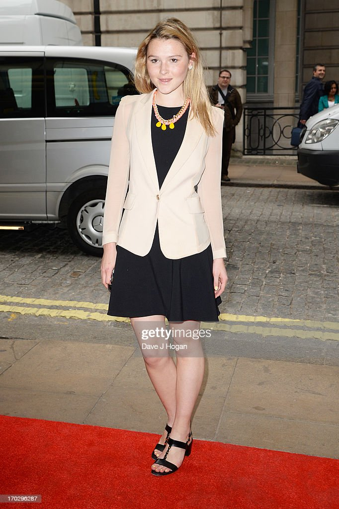 Amber Atherton attends a gala screening of 'Summer In February' at The Curzon Mayfair on June 10, 2013 in London, England.