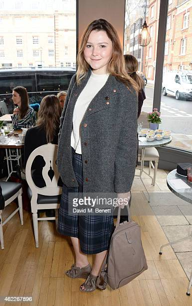 Amber Atherton attends 'Affirmation Mondays' hosted by Poppy Jamie and Greta Bellamacina at Aubaine on January 26 2015 in London England