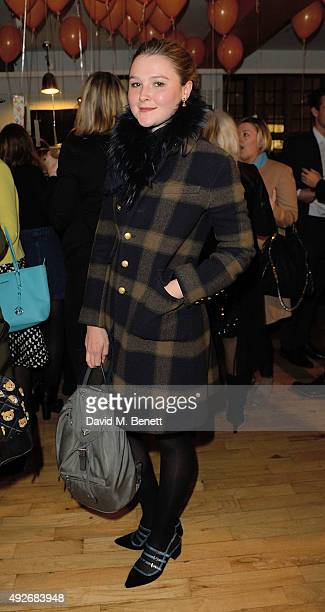 Amber Atherton attends Ed Burstell Autobiography Launch at Liberty on October 14 2015 in London England