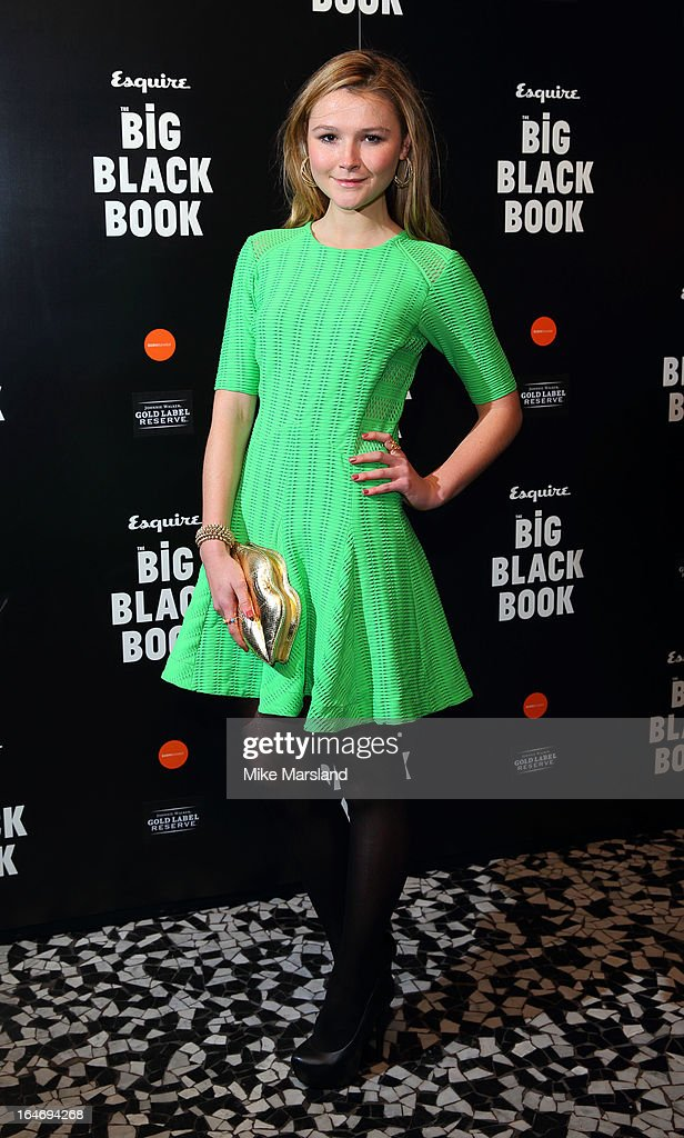 Amber Atherton attends Esquire's Little Black Book party at Sushi Samba on March 26, 2013 in London, England.