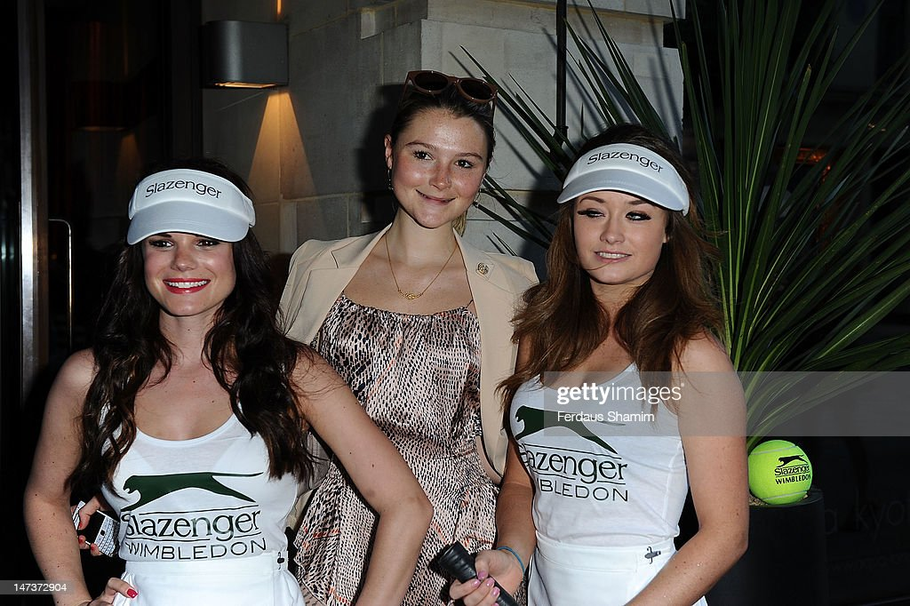 <a gi-track='captionPersonalityLinkClicked' href=/galleries/search?phrase=Amber+Atherton&family=editorial&specificpeople=7192882 ng-click='$event.stopPropagation()'>Amber Atherton</a> attends Slazenger's pre-Wimbledon party at Aqua on June 28, 2012 in London, England.