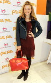 Amber Atherton attends the Folli Follie and Kids Company Collection launch hosted by Erin O'Connor at the Folli Follie New Bond Street boutique on...